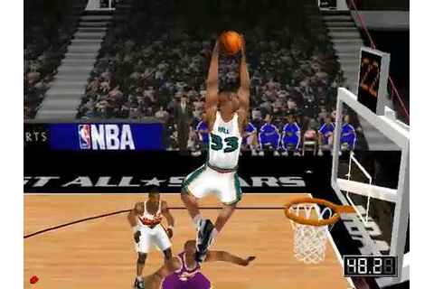 NBA LIVE 99 ALL STAR GAME - YouTube