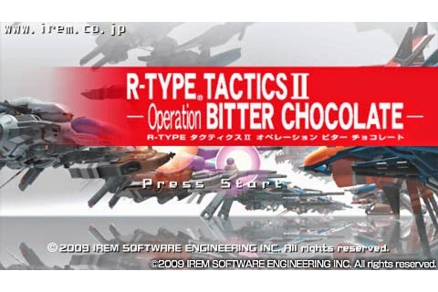 R-Type Tactics II - Operation Bitter Chocolate