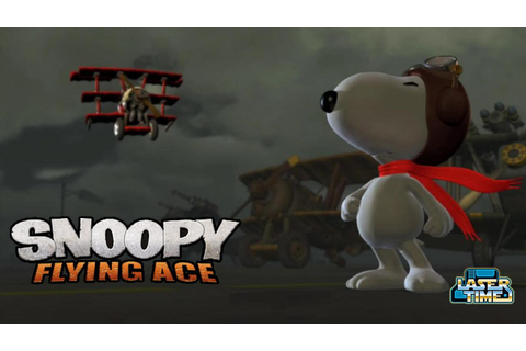 Snoopy Flying Aces - Gameplay - YouTube