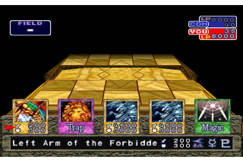Yu-Gi-Oh! Forbidden Memories PS 1 ISO files download 234MB ...