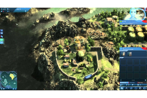Anno 2070 Gameplay - YouTube