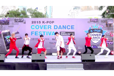 150905 DP Growth cover GOT7 @Thailand 2015 K-POP Cover ...