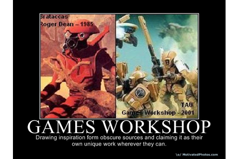 Rear Guard Action: Why bother about Games Workshop ...