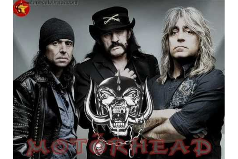 Motorhead - The Game HD lyrics - YouTube