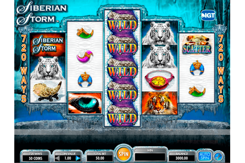 Siberian Storm Slot | Play Best IGT Slots for FREE