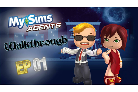 my sims agents walkthrough part 1 - YouTube