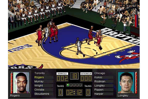 NBA Full Court Press (1996) - PC Game