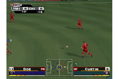 ESPN MLS ExtraTime 2002 for Nintendo GameCube - The Video ...