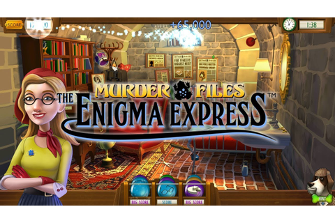 Enigma Express: A Hidden Object Mystery Game - YouTube