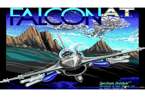 Falcon A.T. gameplay (PC Game, 1988) - YouTube