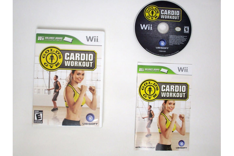 Gold's Gym Cardio Workout game for Wii (Complete) | The ...