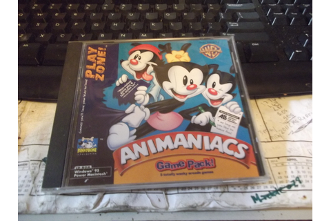 Free: PLAYZONE ANIMANIACS GAME PACK CD GAME - PC Games ...