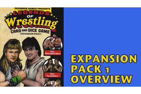 Filsinger Games Legends of Wrestling Expansion Pack 1 ...