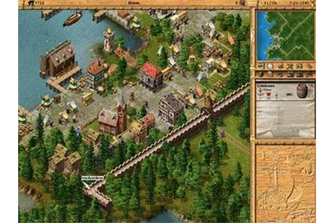 Full Patrician II: Quest for Power version for Windows.