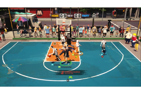 3-on-3 Freestyle Basketball game Beta PS4 - YouTube