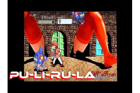 Pu-Li-Ru-La (weirdest game ever) on the PS1 - YouTube