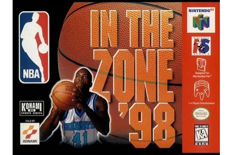 NBA In the Zone '98 (Nintendo 64) - YouTube