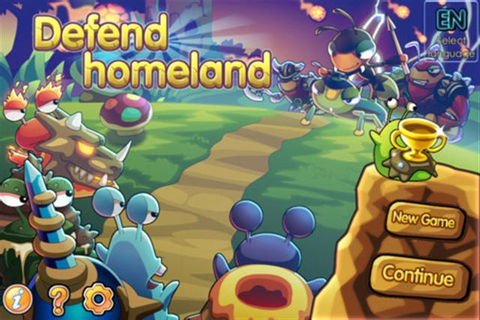 Blog Game: iOS Games Defend Homeland (Free App Of The Day ...