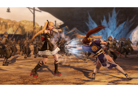Koei Tecmo's big crossover Warriors game comes stateside ...