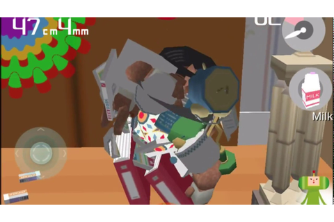 Katamari Amore - John's Room time attack mode - 1m24cm1mm ...