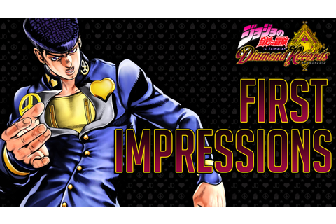 JOJO DIAMOND RECORDS FIRST IMPRESSIONS + GAMEPLAY! NEW ...