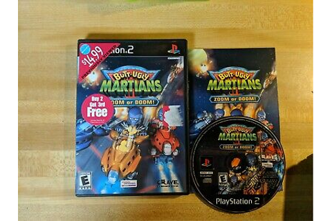 Butt-Ugly Martians: Zoom or Doom Sony PlayStation 2 PS2 ...