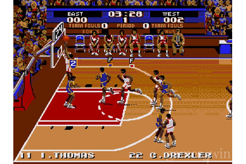 Tecmo Super NBA Basketball Download on Games4Win