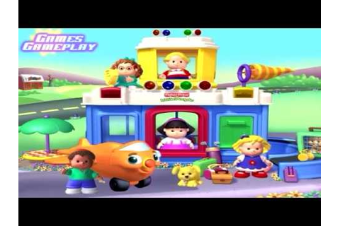 Fisher Price Little People Discovery Airport PC Game - YouTube