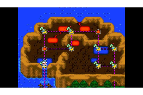 Tiny Toon Adventures: Buster's Hidden Treasure, full map ...
