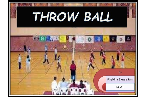 PPT on Throwball