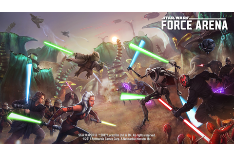 Star Wars: Force Arena just got 16 new iconic characters ...