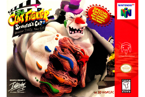 Clayfighter 63 1/3 Sculptor's Cut Nintendo 64 Game