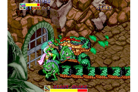 Arcade beat 'em ups from the past – Dungeon Magic | World 1-1