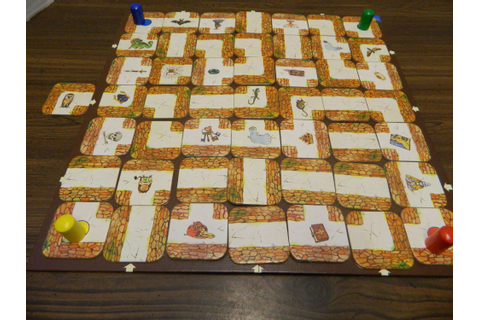 Labyrinth (The aMAZEing Labyrinth) Board Game Review and ...