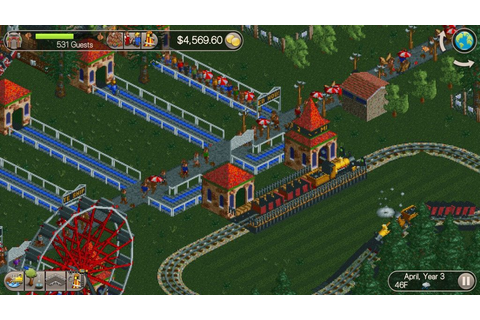 RollerCoaster Tycoon Classic on Qwant Games