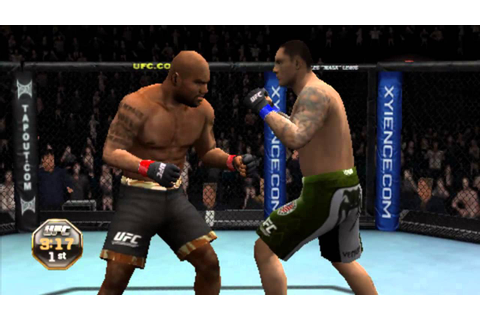 Ufc Undisputed 2010 [Psp] -GamePlay 2013 [HD] - YouTube