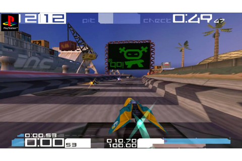 Wipeout 3 - Gameplay PSX / PS1 / PS One / HD 720P (Epsxe ...