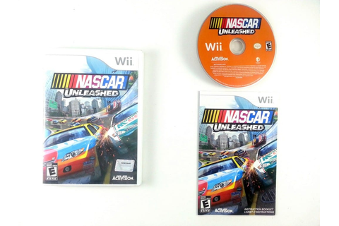 NASCAR Unleashed game for Wii (Complete) | The Game Guy