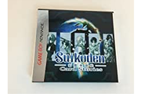 Amazon.com: Suikoden Card Stories - Game Boy Advance ...
