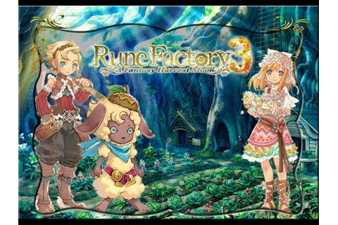 Rune Factory 3: A Fantasy Harvest Moon Opening - YouTube