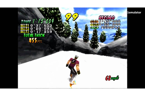 Cool Boarders 2 - [PS1 Gameplay] - YouTube