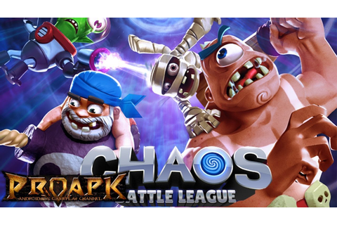 Chaos League - Un fel de clash royal - YouTube