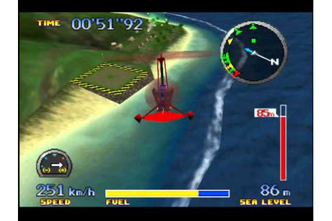 Pilotwings 64 - Gyrocopter Gameplay #2 - YouTube