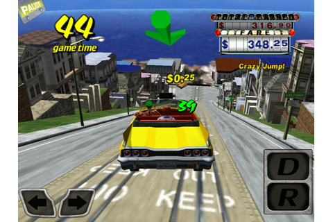 Crazy Taxi iPhone Game Review