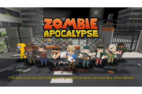 Zombie Apocalypse iOS, Android game - Mod DB