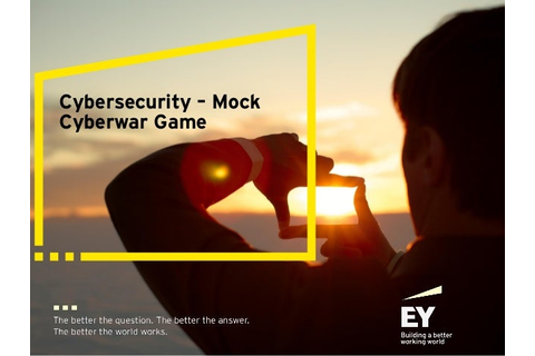 Cybersecurity: Mock Cyberwar Game