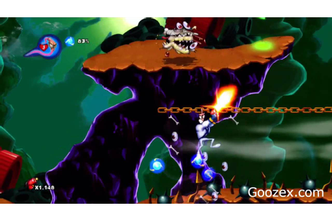 Earthworm Jim HD Gameplay Footage - YouTube