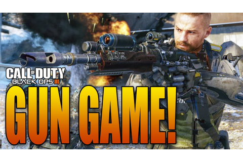 Call of Duty®: Black Ops III Gun Game - YouTube