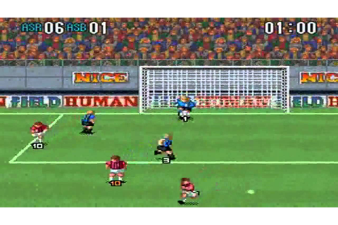 Super Formation Soccer 2 : ALL STAR : ASR VS ASB - YouTube
