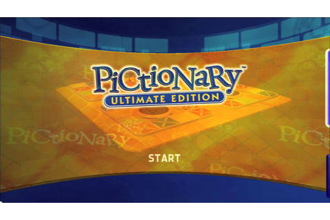uDraw: Pictionary Ultimate Edition Title Screen (Xbox 360 ...